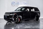2014 Land Rover Range Rover Supercharged LWB Rear DVD
