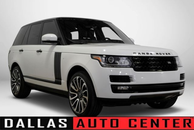 2014 Land Rover Range Rover Supercharged Plus Autobiography Pkg Carrollton TX