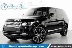 2014 Land Rover Range Rover Supercharged Vision Assist New Tires Pano Roof