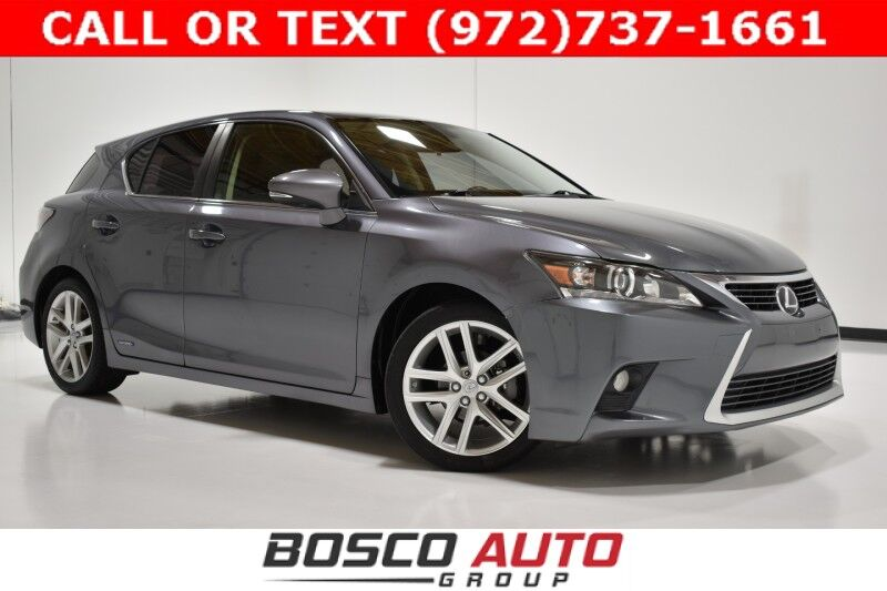 2014 Lexus CT 200h Hybrid Flower Mound TX