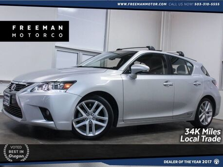 2014_Lexus_CT 200h_Hybrid Local Trade Just 34K Miles_ Portland OR