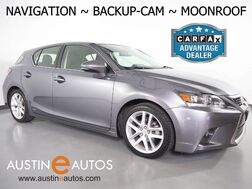 2014_Lexus_CT 200h Hybrid_*NAVIGATION, BACKUP-CAMERA, MOONROOF, HEATED SEATS, ALLOY WHEELS, BLUETOOTH PHONE & AUDIO_ Round Rock TX