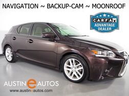 2014_Lexus_CT 200h Hybrid Premium_*NAVIGATION, BACKUP-CAMERA, MOONROOF, HEATED SEATS, ALLOY WHEELS, BLUETOOTH PHONE & AUDIO_ Round Rock TX