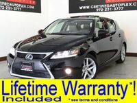 Lexus CT 200h PREMIUM PKG FOR NAVIGATION SUNROOF LEATHER HEATED SEATS REAR CAMERA 2014