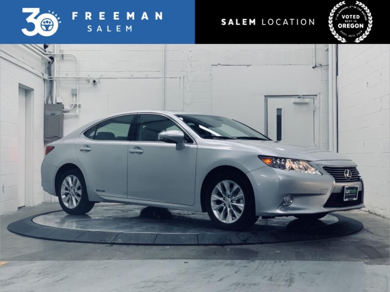 2014 Lexus ES 300h Hybrid Blind Spot Monitor Heated/Ventilated Seats Salem OR