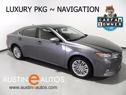 2014_Lexus_ES 350_*NAVIGATION, LUXURY PKG, BLIND SPOT ALERT, BACKUP-CAM, CLIMATE SEATS, MOONROOF, BLUETOOTH_ Round Rock TX