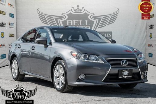 2014 Lexus ES 350 PREMIUM PKG NAVIGATION LEATHER SUNROOF BACKUP-CAMERA Toronto ON