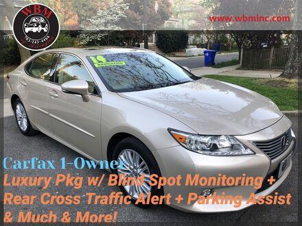 2014_Lexus_ES 350_w/ Luxury Pkg & Navigation_ Arlington VA