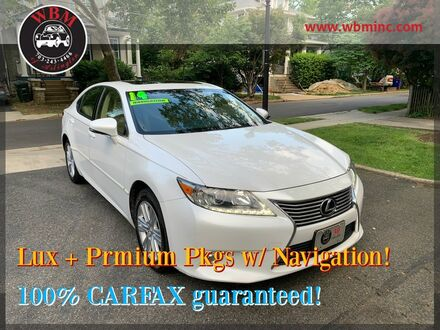 2014_Lexus_ES 350_w/ Ultra Luxury Package_ Arlington VA