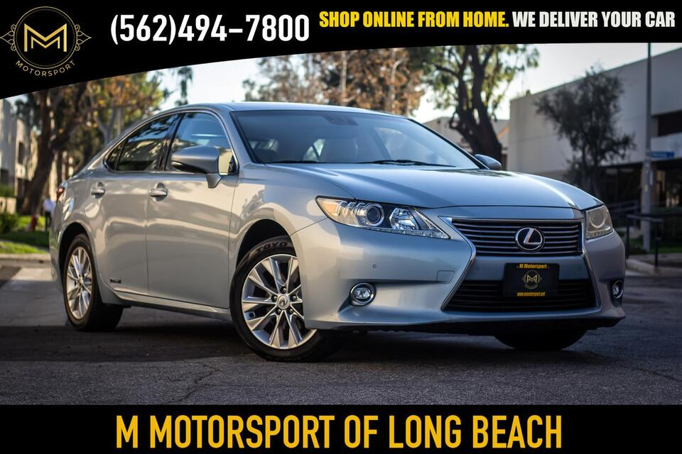 2014_Lexus_ES_ES 300h Sedan 4D_ Long Beach CA