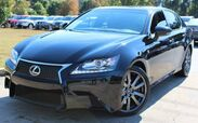 2014 Lexus GS 350 ** F SPORT PACKAGE ** - w/ NAVIGATION & RED LEATHER SEATS
