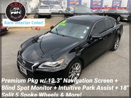 2014_Lexus_GS 350_AWD w/ Premium Package_ Arlington VA