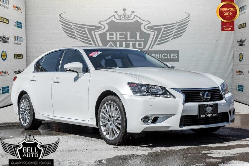 2014 Lexus GS 350 AWD,LUXURY,NAVI,HEADS-UP DISPLAY,BACK-UP CAM,BLIND SPOT Toronto ON