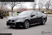 2014 Lexus GS 350 F SPORT BLIND SPOT/LEVINSON RED INTERIOR ONLY 16K MILES!!!! CPO to 100K Miles