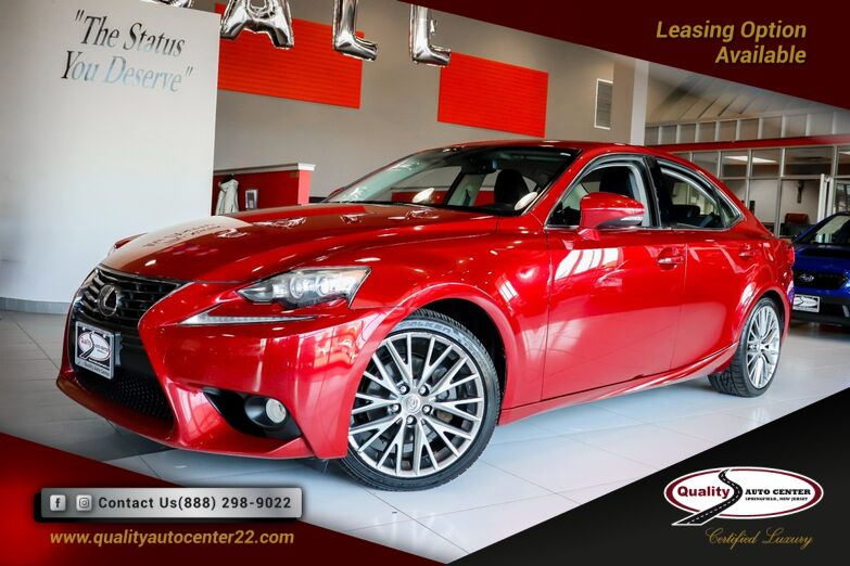 2014 Lexus IS 250 4D AWD Navigation, Luxury Pkg 18'' Wheels Springfield NJ
