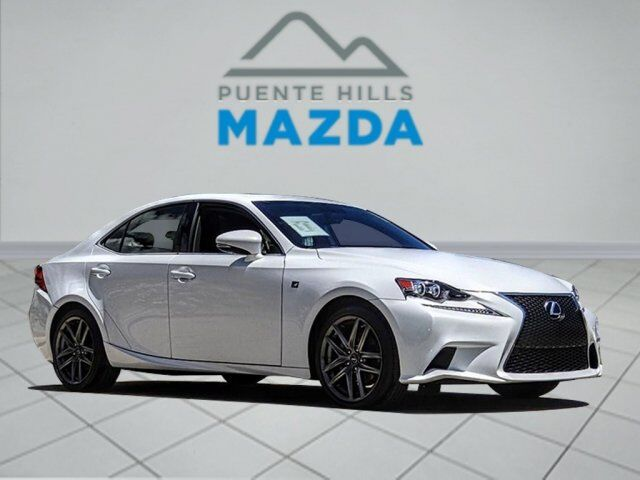 2014 Lexus IS 250 4DR SPT SDN RWD A City of Industry CA