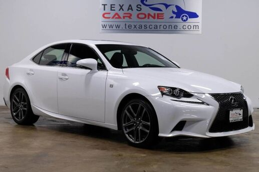 2014 Lexus IS 250 AWD F-SPORT PREFERRED ACCESSORY PKG BLIND SPOT MONITORING NAVIGATION Carrollton TX