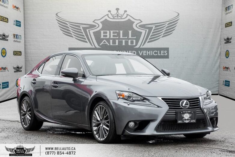 2014 Lexus IS 250 BACK-UP CAM, SUNROOF, COOLED SEATS, LEATHER, BLUETOOTH Toronto ON