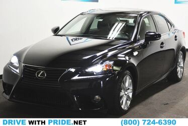 Lexus IS 250 Black rear wheel drive sport sedan 2014