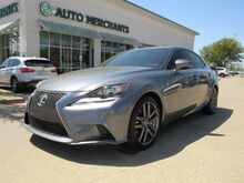 2014_Lexus_IS_250 F-SPORT 2WD RED LEATHER, NAVIGATION, PADDLE SHIFTERS, BLUETOOTH, BACKUP CAM, REAR CLIMATE_ Plano TX