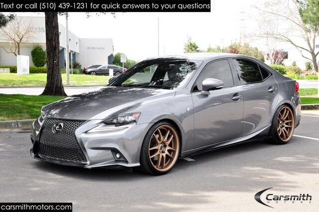 2014 Lexus IS 250 F-Sport Navigation, Blind Spot ,19-Inch Work Wheels & MORE! Fremont CA