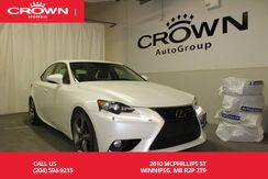2014_Lexus_IS 350_/ONE OWNER/AWD/WINTER TIRES/NAVIGATION SYS/BACK UP CAM_ Winnipeg MB