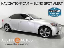 2014_Lexus_IS 350_*NAVIGATION, BACKUP-CAMERA, BLIND SPOT ALERT, CLIMATE SEATS, MOONROOF, BLUETOOTH PHONE & AUDIO_ Round Rock TX