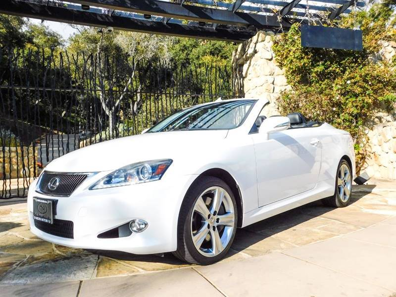 2014 Lexus IS 350C Base 2dr Convertible Santa Barbara CA