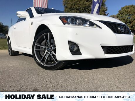 2014 Lexus IS 350C F Sport Salt Lake City UT