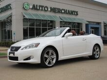 2014_Lexus_IS C_250 NAV, HTD/COOLED STS, BLUETOOTH, BACKUP CAM, AUX INPUT, SAT RADIO, CD PLAYER, PUSH BUTTON_ Plano TX