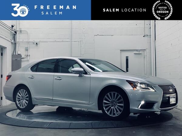 2014_Lexus_LS 460_AWD Blind Spot Monitor Mark Levinson Audio_ Salem OR