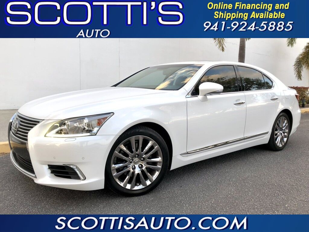 2014 Lexus LS 460 LEXUS LS 460 LUXURY SEDAN~ONLY 56K MILES~PEARL WHITE/ TAN~ FACTORY CHROME~ CLEAN CARFAX~ MINT~ LOADED~ BEAUTIFUL CAR~ ONLINE FINANCE AND SHIPPING! CONTACT US TODAY! Sarasota FL