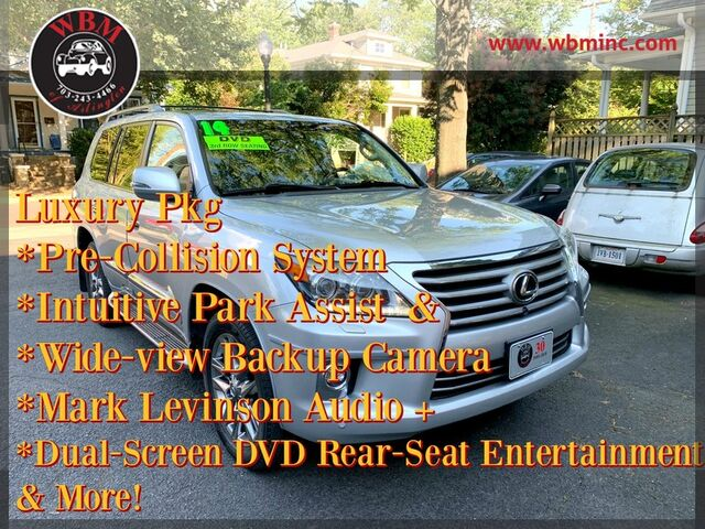 2014 Lexus LX 570 4WD w/ 3rd Row & Luxury Pkg Arlington VA