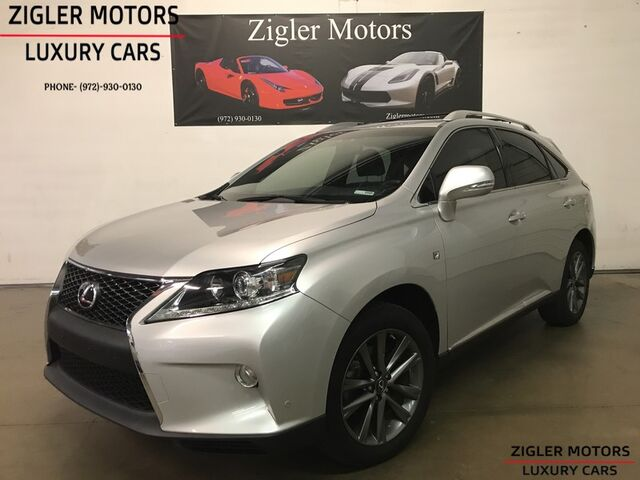 2014 Lexus RX 350 AWD F Sport Navigation Backup Camera Low Miles Addison TX  ...
