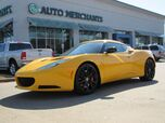 2014 Lotus Evora S 6 SPEED MANUAL, NAVIGATION, BLUETOOTH CONNECTIVITY, SPORT MODE, LEATHER, BACKUP CAMERA, HTD STS