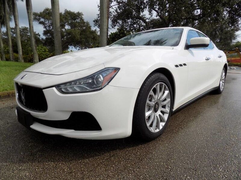 2014 Maserati Ghibli Base Hollywood FL