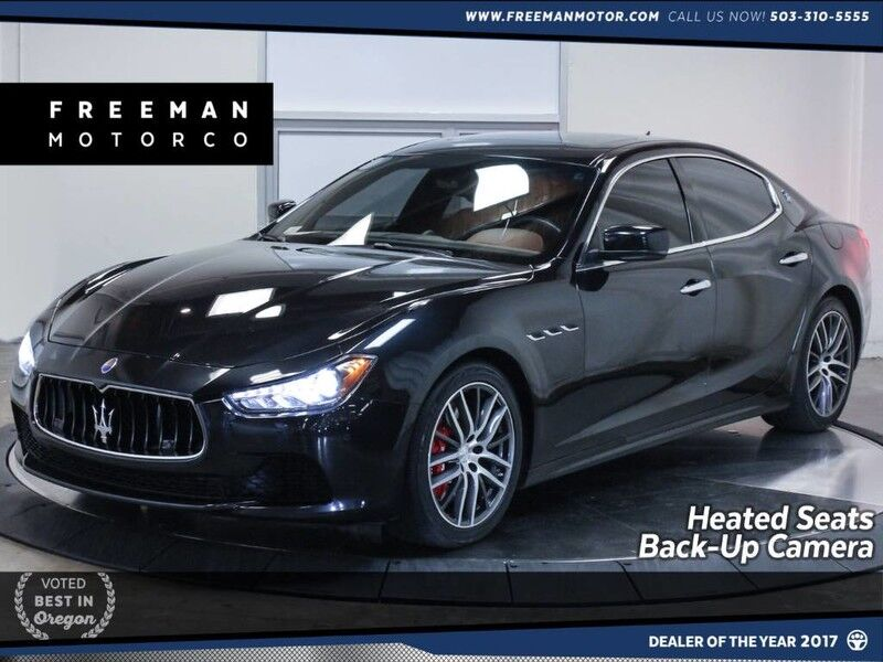 2014 Maserati Ghibli S Q4 AWD Navigation Heated Seats Back-Up Cam Portland OR