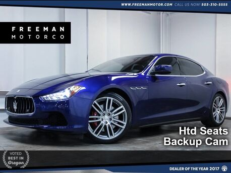 2014_Maserati_Ghibli_S Q4 Nav Heated Seats Backup Cam_ Portland OR