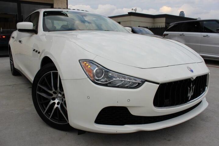 2014 Maserati Ghibli S Q4,1 OWNER,LOW MILES,SHOWROOM CONDITION! Houston TX