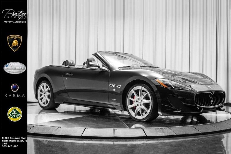 2014_Maserati_GranTurismo Convertible_Sport_ North Miami Beach FL