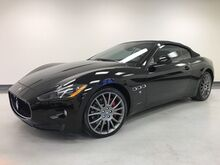 2014_Maserati_GranTurismo Convertible_low miles only 16KMI Clean Carfax Triple Black Beautiful!_ Addison TX