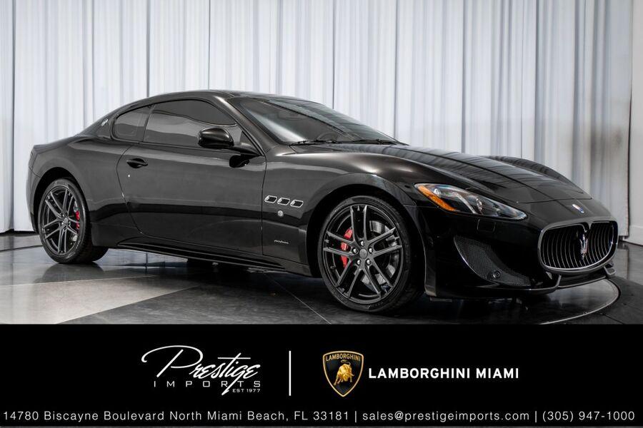 2014_Maserati_GranTurismo_Sport_ North Miami FL