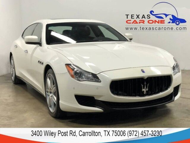 2014 Maserati Quattroporte GTS NAVIGATION SUNROOF LEATHER HEATED SEATS REAR CAMERA KEYLESS Carrollton TX