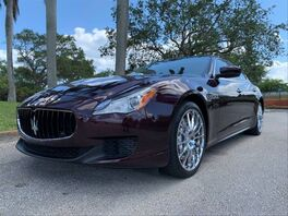 2014_Maserati_Quattroporte_GTS Sedan 4D_ Hollywood FL