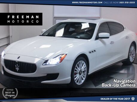 2014_Maserati_Quattroporte_S Q4 AWD Back-Up Cam Heated Seats Nav_ Portland OR