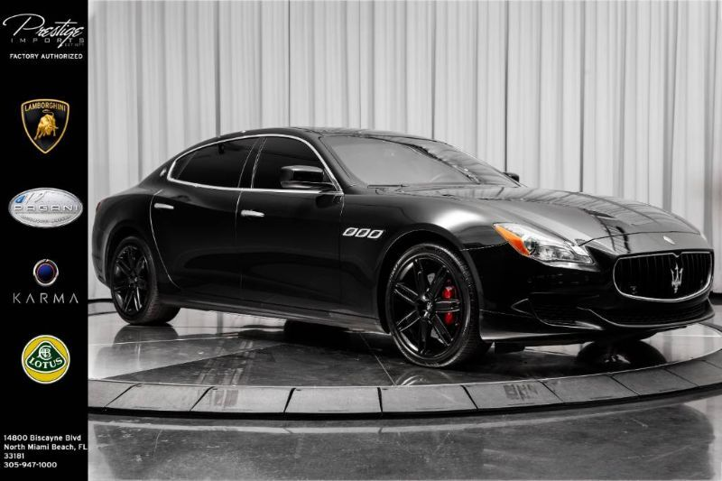 2014_Maserati_Quattroporte_S Q4_ North Miami Beach FL