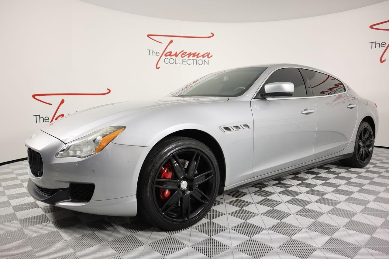 2014 Maserati Quattroporte S Q4 Sedan 4D Hollywood FL