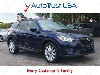 Mazda CX-5 GT 1 OWNER CLEAN CARFAX LEATHER SUNROOF BACKUP CAM 2014