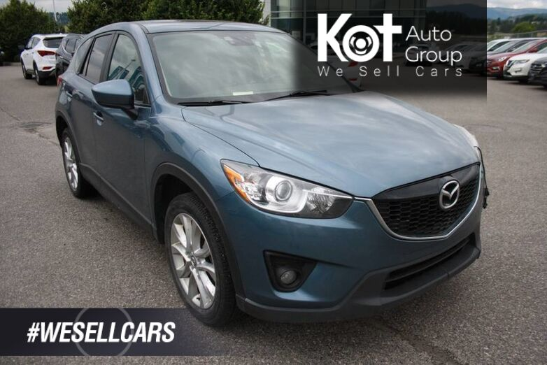 2014 Mazda CX-5 GT ONE OWNER! NO ACCIDENT ! NAVIGATION! LEATHER, FULL LOAD! Kelowna BC