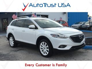 Mazda CX-9 GT 1 OWNER CLEAN CARFAX NAV BACKUP CAM TECH PKG 3RD ROW 2014